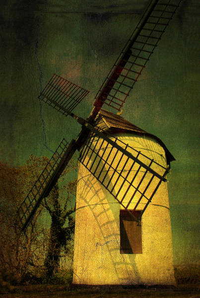Wedmore Photograph - Ashton Windmill by Alan Tunnicliffe