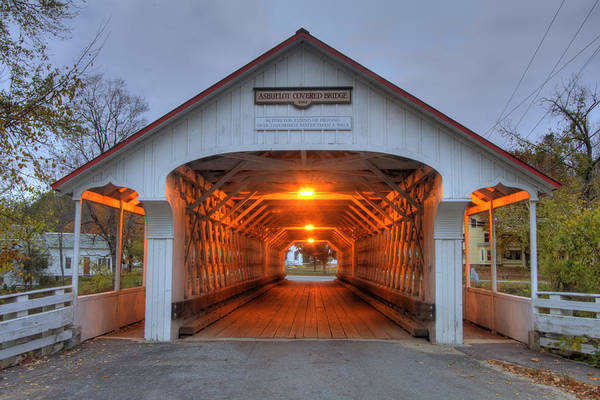 Photograph - Ashuelot Covered Bridge by Joann Vitali