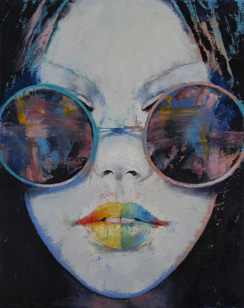 Chinese Girl Wall Art - Painting - Asia by Michael Creese
