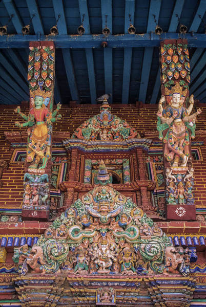 Hindu Goddess Wall Art - Photograph - Asia, Nepal, Kathmandu Valley, Patan by John and Lisa Merrill