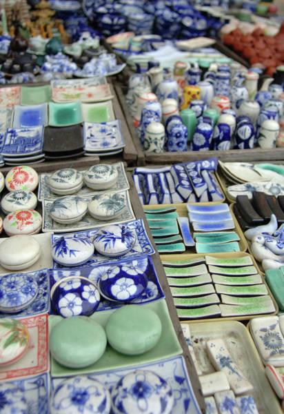 Hoi An Photograph - Asia, Vietnam Ceramics For Sale, Hoi by Kevin Oke
