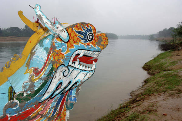 Bow River Wall Art - Photograph - Asia, Vietnam Dragon Bow Of A Tourist by Kevin Oke