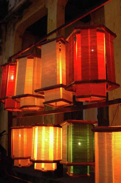 Southeast Asia Wall Art - Photograph - Asia, Vietnam Fabric Lanterns, Hoi An by Kevin Oke