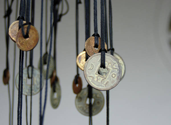 Hoi An Photograph - Asia, Vietnam Old Chinese Coins by Kevin Oke