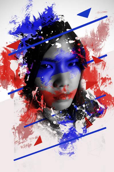 Wall Art - Digital Art - Asian Abstract Beauty  by Nathan Wright