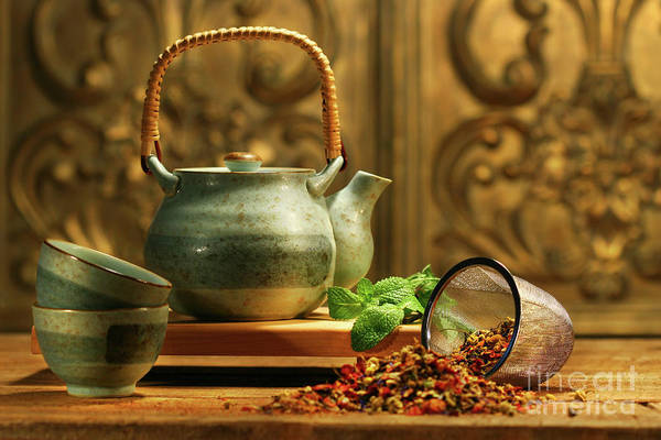 Herbs Photograph - Asian Herb Tea by Sandra Cunningham
