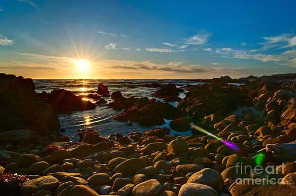 Monterey Bay Photograph - Asilomar Sunset - Monterey Bay by Jamie Pham