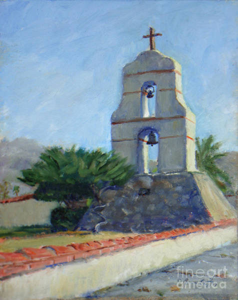 Painting - Asistencia Bell Tower by Joan Coffey