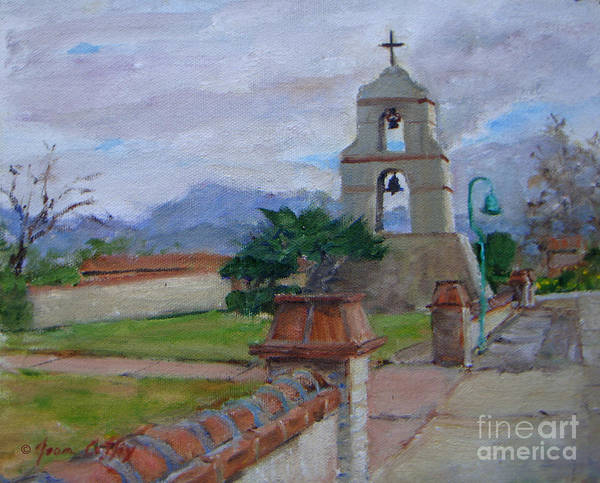 Painting - Asistencia On A Cloudy Day by Joan Coffey