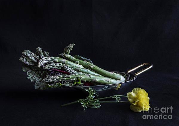 Kale Photograph - Asparagus by Elena Nosyreva