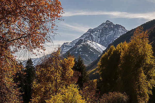 Photograph - Aspen And Mountains 2 by Lee Kirchhevel