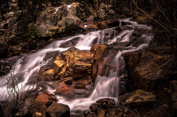 Tioga Photograph - Aspen Falls by Scott McGuire