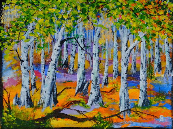 Aspen Friends In Walkerville Art Print