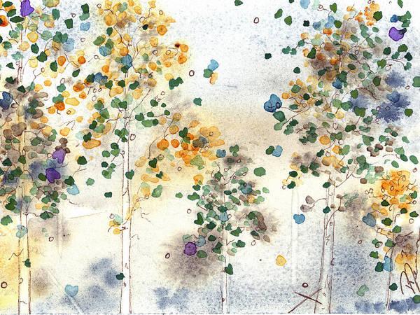 Aspen Grove Art Print