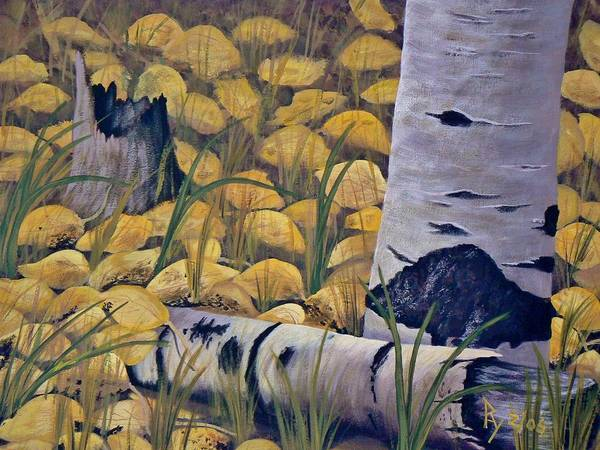 Painting - Aspen-ness by Ray Nutaitis