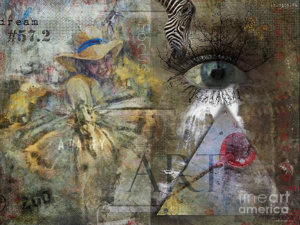 Clarity Digital Art - Asperger's by Nola Lee Kelsey