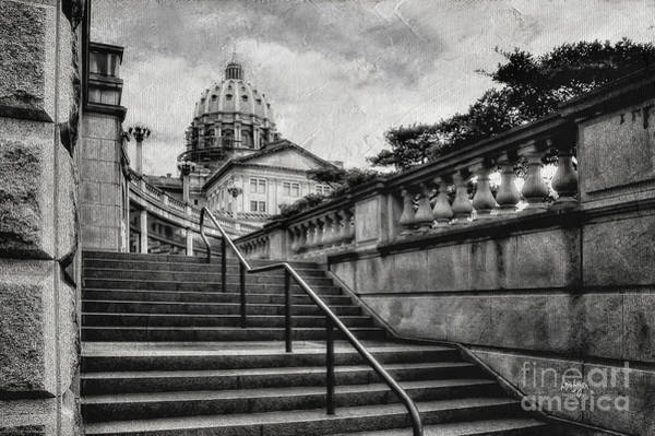 Wall Art - Photograph - Aspirations In Black And White by Lois Bryan