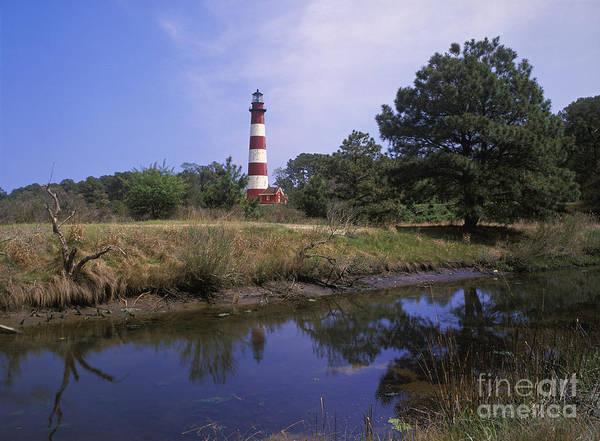 Virginia Lighthouse Photograph - Assateague Lighthouse - Fm000081 by Daniel Dempster