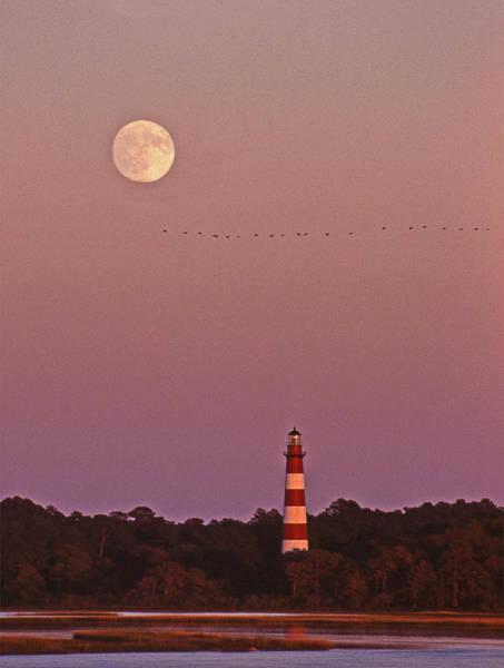Virginia Lighthouse Photograph - Assateague Lighthouse Va by Skip Willits
