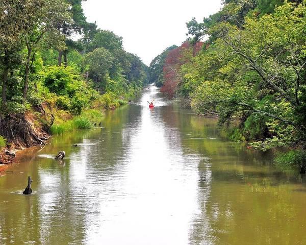 Bemis Photograph - Assawoman Canal - Delaware by Kim Bemis