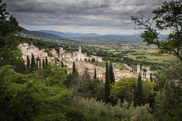 Photograph - Assisi And Surroundings by Dwight Theall