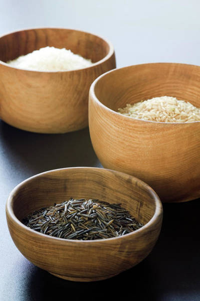 Wall Art - Photograph - Assortment Of Rice by Gustoimages/science Photo Library