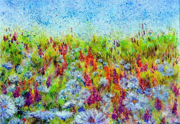 Painting - Aster Season by Regina Valluzzi