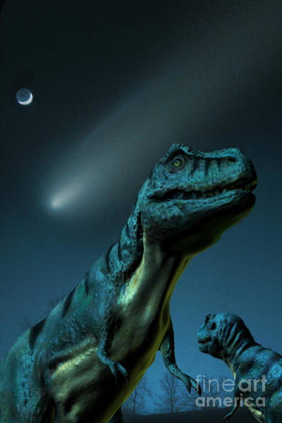 Photograph - Asteroid And Dinosaurs by Spencer Sutton