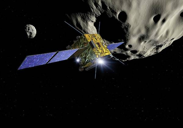 Aim Photograph - Asteroid Impact Mission by Detlev Van Ravenswaay/science Photo Library