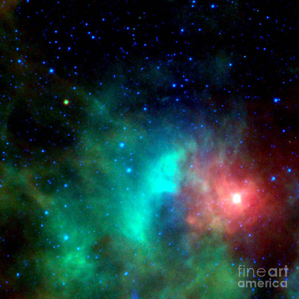Photograph - Asteroid Zips By Orion Nebula by Rose Santuci-Sofranko