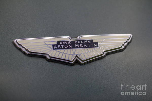 Photograph - Aston Martin by Clare Bambers