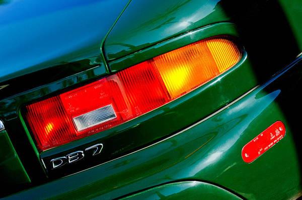 Photograph - Aston Martin Db7 Taillight by Jill Reger