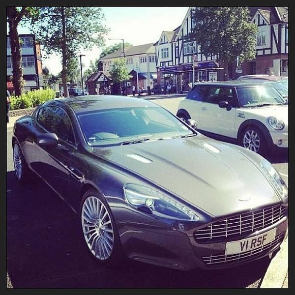 Aston Martin Photograph - #aston #martin #rapide #4door #db9 #dbs by John Lowery-brady