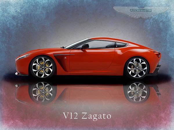Aston Martin V12 Zagato Art Print