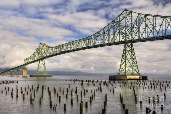 Photograph - Astoria Bridge by Mark Kiver