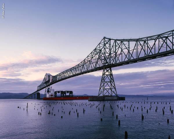 Photograph - Astoria Megler Bridge by Alexander Fedin