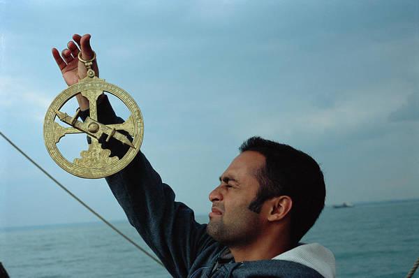 Seamen Photograph - Astrolabe by Adam Hart-davis/science Photo Library
