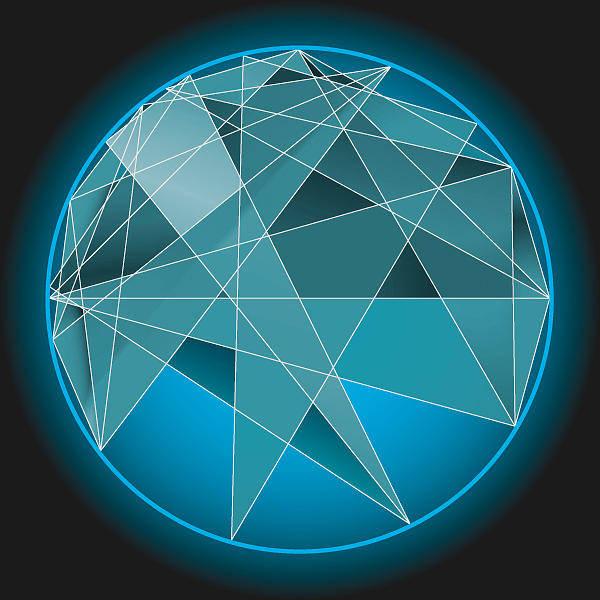 Aspect Digital Art - Astrological Aspect Art Sample by Nick Anthony Fiorenza