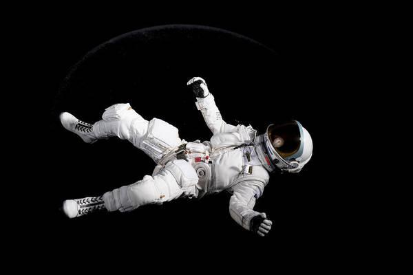 Astronaut Floating Art Print by Rick Partington / EyeEm