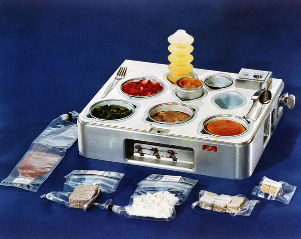 1972 Photograph - Astronaut Food by Nasa