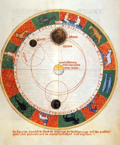 Photograph - Astronomy: A Zodiac by Granger