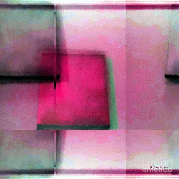 Painting - Asymmetrical Symmetry by RC DeWinter