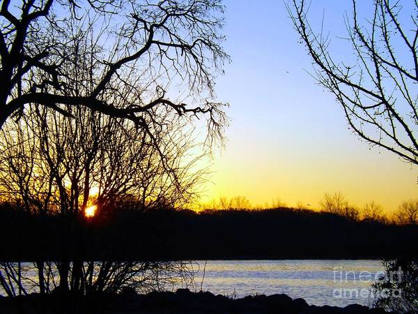 Photograph - At Daybreak On The Delaware River by Robyn King