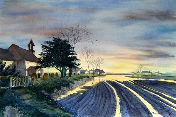 Painting - At Eventide by Glenn Marshall