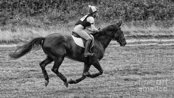 Cross Country Photograph - At Full Speed by Nigel Jones