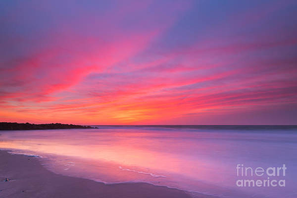 Fire In The Sky Wall Art - Photograph - At Peace  by Michael Ver Sprill