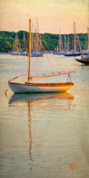 Sailboat Mixed Media - At Rest by Michael Petrizzo