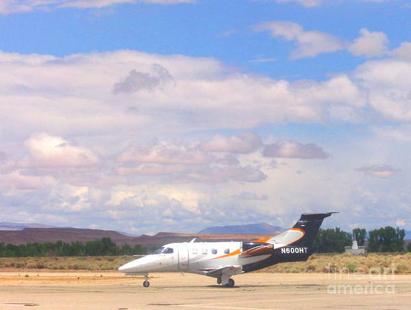 Bishop Hill Photograph - At The Airport by Marilyn Diaz