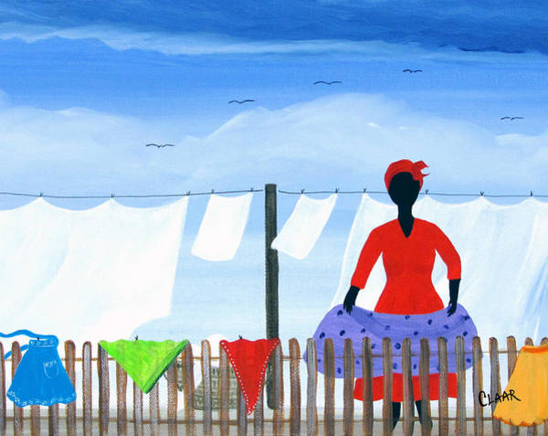 Gullah People Wall Art - Painting - Better Hurry by Samantha Claar