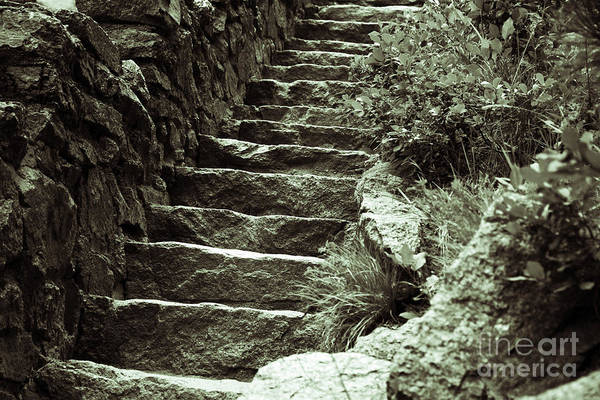 Helen Hunt Falls Photograph - At The Bottom by Shar Schermer